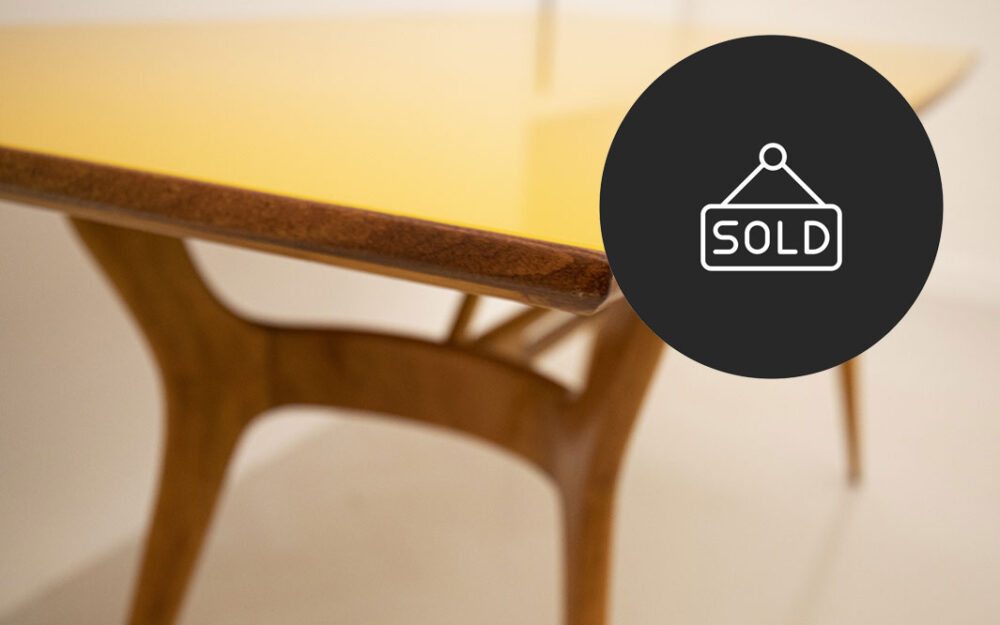 tavolo giallo sold