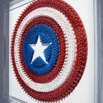 shield CAPTAIN AMERICA dettaglio